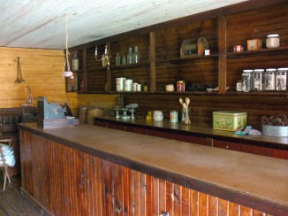 Old General Store Counter