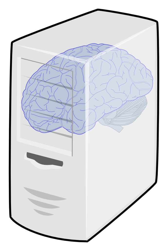 Brain power in a computer | Working on work