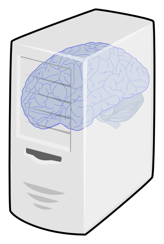 Brain power in a computer